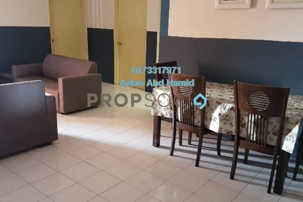 For Rent Apartment at Permai Putera, Ampang Freehold Fully Furnished 3R/2B 1.7k