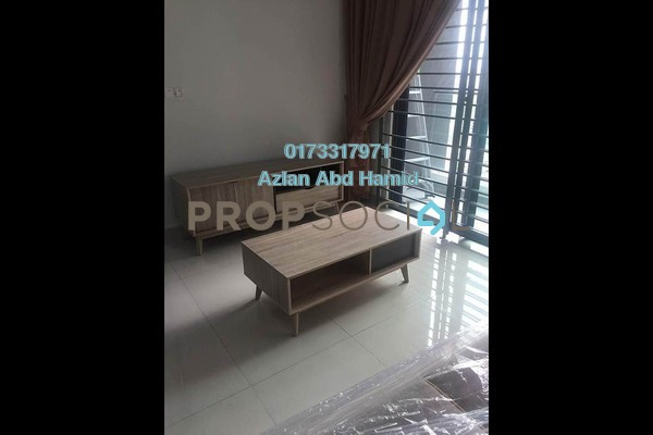 For Rent Condominium at LakePark Residence @ KL North, Selayang Freehold Fully Furnished 3R/2B 1.6k