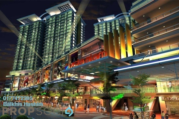 For Sale Condominium at Vista Alam, Shah Alam Freehold Fully Furnished 2R/2B 500k