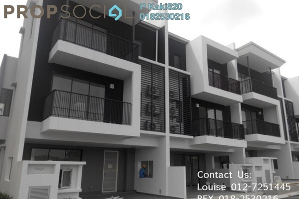 For Sale Terrace at Andana @ D'Alpinia, Puchong Leasehold Semi Furnished 5R/5B 1.04m