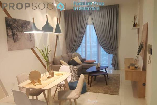For Rent Condominium at EcoSky Residence, Kuala Lumpur Freehold Fully Furnished 3R/2B 2.6k