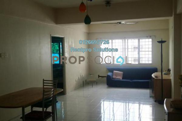 For Rent Condominium at Endah Ria, Sri Petaling Freehold Semi Furnished 3R/2B 1.6k