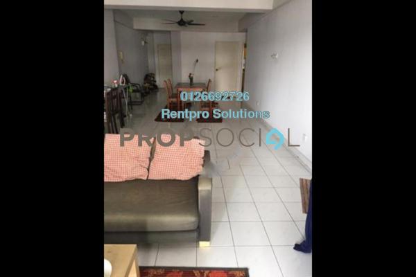 For Rent Condominium at Endah Ria, Sri Petaling Freehold Semi Furnished 3R/2B 1.7k