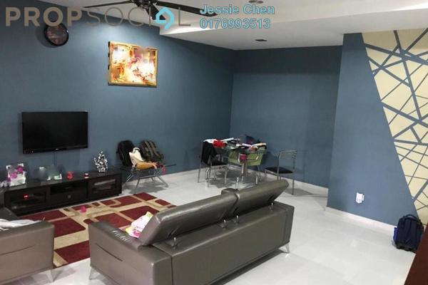 For Rent Terrace at Taman Bukit Galena, Seremban Freehold Semi Furnished 4R/4B 1.2k