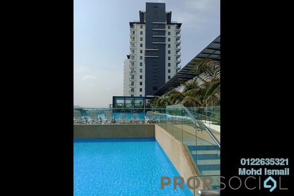 For Rent Condominium at Damai Hillpark, Bandar Damai Perdana Freehold Unfurnished 3R/2B 1.1千