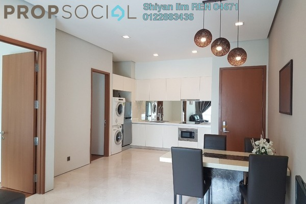 For Rent Condominium at Soho Suites, KLCC Freehold Fully Furnished 2R/1B 2.7k
