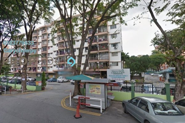For Sale Condominium at Brem Park, Kuchai Lama Freehold Semi Furnished 3R/2B 308k