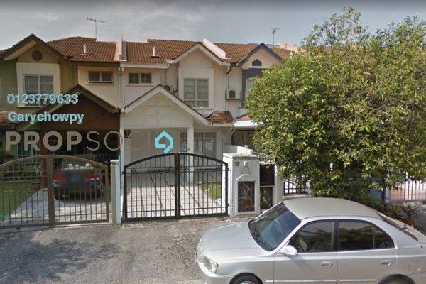 For Sale Terrace at Meranti Terrace, Kota Kemuning Freehold Semi Furnished 4R/3B 452k