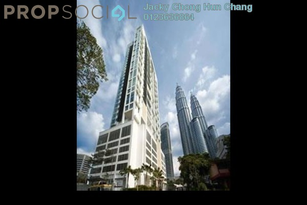 For Rent Condominium at The Meritz, KLCC Freehold Fully Furnished 2R/2B 4.6k