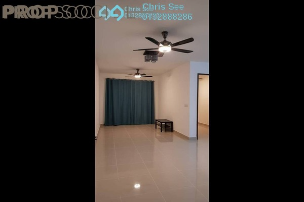 For Rent Condominium at Ken Rimba, Shah Alam Freehold Semi Furnished 3R/2B 1.4k