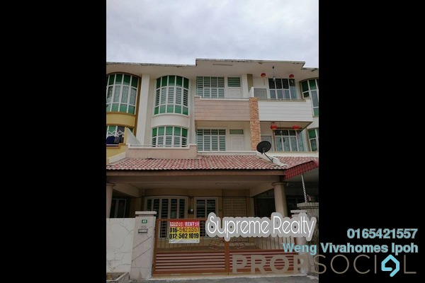For Rent Terrace at Bandar Cyber, Ipoh Freehold Unfurnished 5R/4B 1.1k