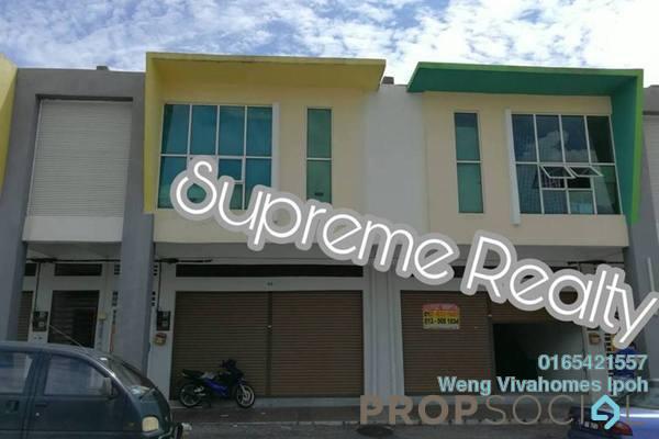 For Rent Shop at Panorama Lapangan Perdana, Ipoh Freehold Unfurnished 0R/0B 1.5k
