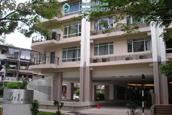 For Sale Serviced Residence at 38 Bidara, Bukit Ceylon Freehold Semi Furnished 2R/2B 515k