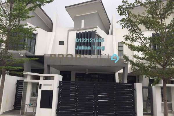 For Sale Terrace at Laman Glenmarie, Saujana Freehold Fully Furnished 4R/4B 1.25m