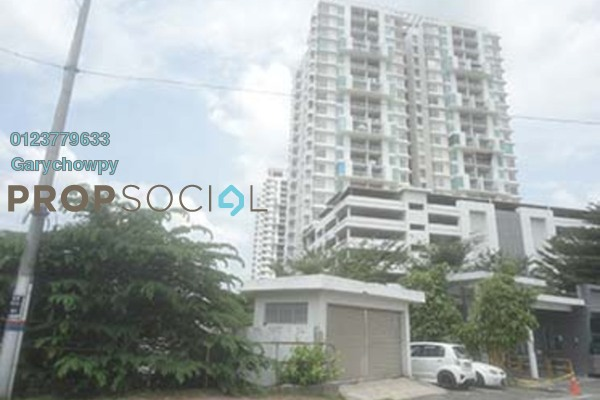For Sale Condominium at Zen Residence, Puchong Freehold Semi Furnished 3R/3B 355k
