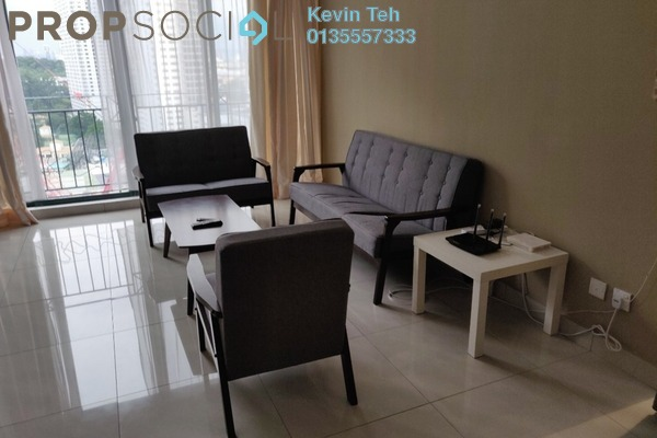 For Rent Condominium at Vista Kiara, Mont Kiara Freehold Fully Furnished 3R/2B 3.3k