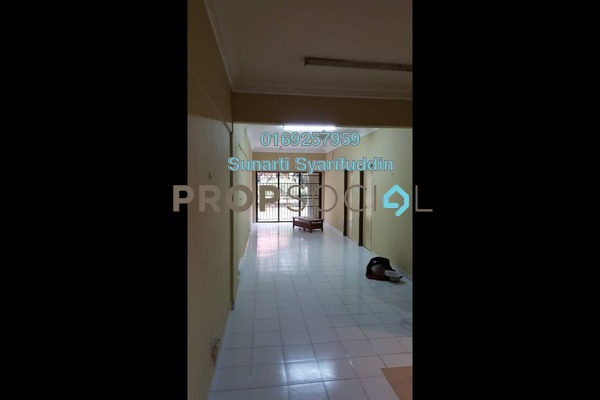 For Rent Apartment at Prima Bayu, Klang Freehold Semi Furnished 3R/2B 1.1k