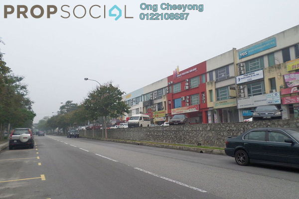 For Sale Shop at Brem Park, Kuchai Lama Freehold Semi Furnished 0R/0B 4.5m