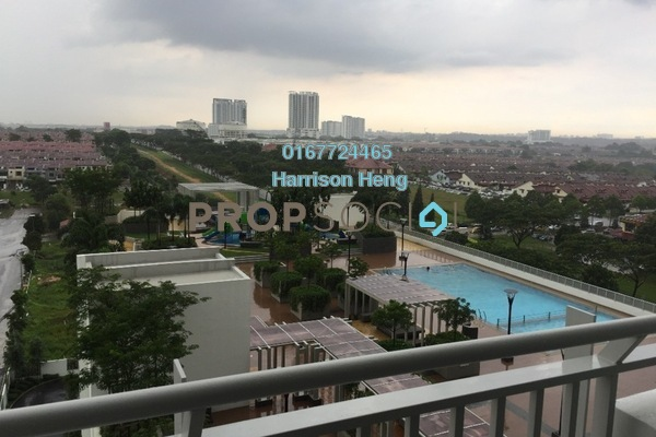 For Sale Serviced Residence at Sky View, Bukit Indah Freehold Fully Furnished 3R/2B 620k
