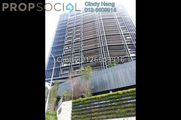 For Rent Condominium at Bangsar Peak, Bangsar Freehold Semi Furnished 4R/5B 17k