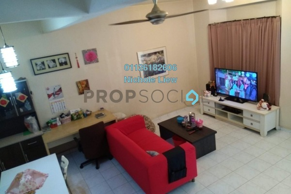 For Sale Link at Section 3, Bandar Mahkota Cheras Freehold Semi Furnished 4R/3B 518k