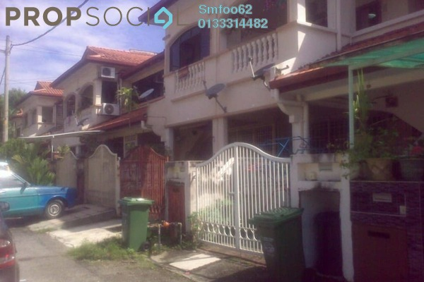 For Sale Terrace at Taman Setapak Indah, Setapak Freehold Semi Furnished 4R/3B 800k