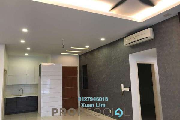 For Rent Condominium at The Z Residence, Bukit Jalil Freehold Semi Furnished 3R/2B 2.8k
