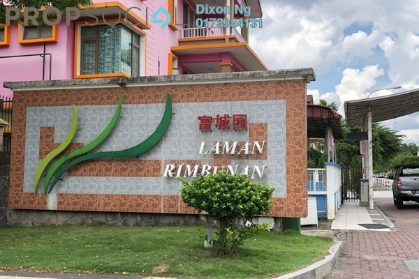 For Sale Terrace at Laman Rimbunan, Kepong Freehold Semi Furnished 5R/4B 1.37m
