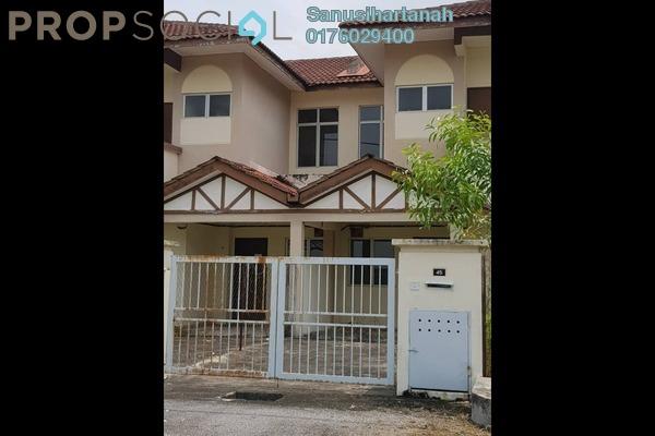 For Sale Terrace at Alam Perdana, Kuala Selangor Freehold Unfurnished 4R/2B 280k