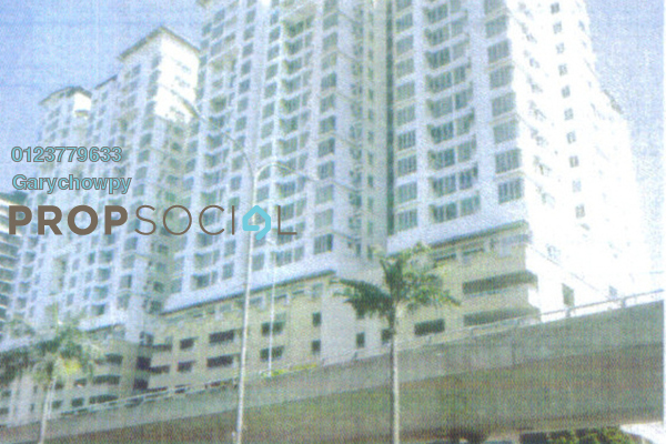 For Sale Serviced Residence at Casa Tiara, Subang Jaya Freehold Semi Furnished 1R/1B 259k