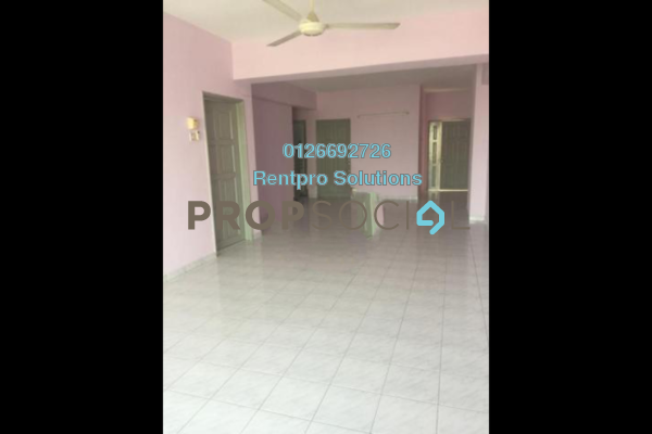 For Rent Condominium at Pandan Villa, Pandan Indah Freehold Semi Furnished 3R/2B 1.1k