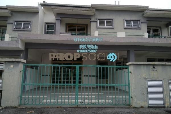 For Sale Link at Section 5, Bandar Mahkota Cheras Freehold Semi Furnished 6R/4B 659k