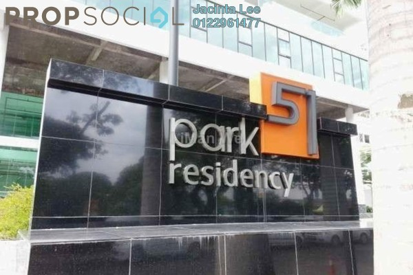 For Sale Condominium at Park 51 Residency, Petaling Jaya Freehold Semi Furnished 3R/2B 381k