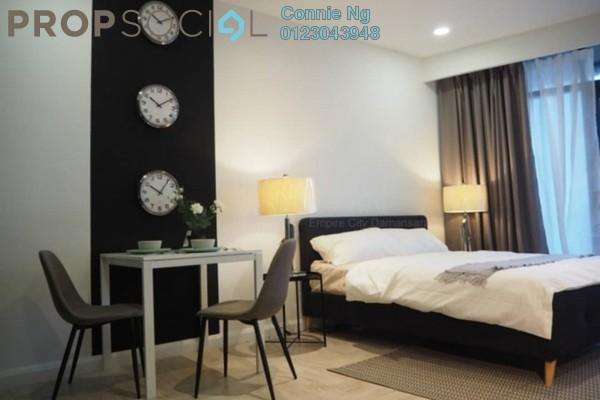 For Rent SoHo/Studio at Empire City, Damansara Perdana Freehold Fully Furnished 0R/1B 1.5k