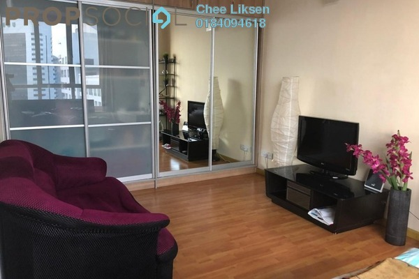 For Rent Condominium at Park View, KLCC Freehold Fully Furnished 0R/1B 2k