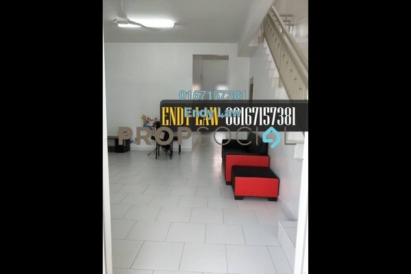 For Sale Terrace at Luciana, Setia Eco Gardens Freehold Semi Furnished 3R/2B 485k
