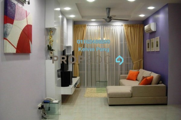 For Sale Condominium at BaysWater, Gelugor Freehold Fully Furnished 3R/2B 849k