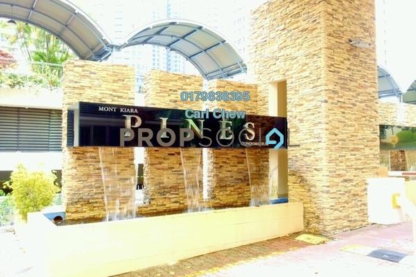 For Rent Condominium at Mont Kiara Pines, Mont Kiara Freehold Fully Furnished 3R/2B 4k