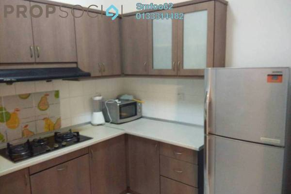 For Rent Condominium at Sri Pelangi, Setapak Freehold Semi Furnished 3R/2B 1.2k