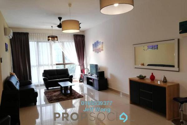 For Rent Condominium at Skycube Residence, Sungai Ara Freehold Fully Furnished 3R/2B 1.8k