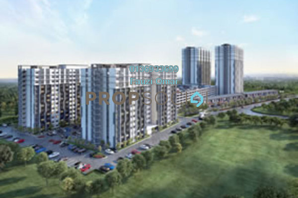 For Sale Apartment at Cybersouth, Dengkil Freehold Unfurnished 3R/3B 270k