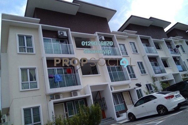 For Rent Townhouse at Mahkota Villa, Bandar Mahkota Cheras Freehold Unfurnished 3R/2B 950translationmissing:en.pricing.unit