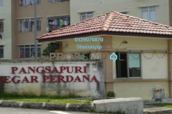 For Rent Apartment at Segar Perdana Apartment, Cheras Freehold Unfurnished 3R/2B 800translationmissing:en.pricing.unit