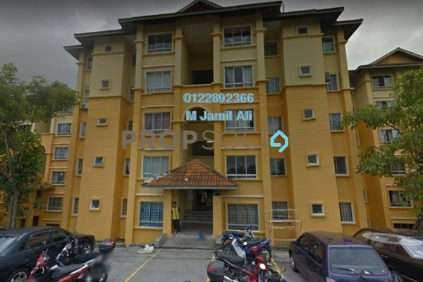 For Sale Apartment at Astana Alam Apartment, Kuala Selangor Leasehold Semi Furnished 3R/2B 170k