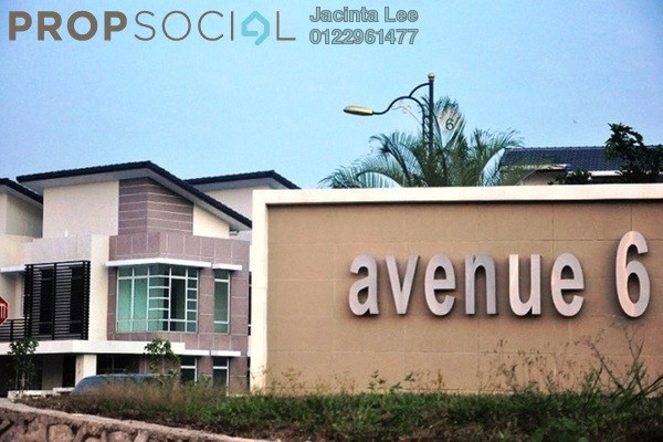For Sale Semi-Detached at Lake Valley, Bandar Tun Hussein Onn Freehold Unfurnished 6R/5B 1.09m