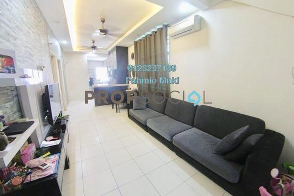 For Sale Townhouse at Pearl Villa, Bandar Saujana Putra Leasehold Semi Furnished 4R/2B 335k