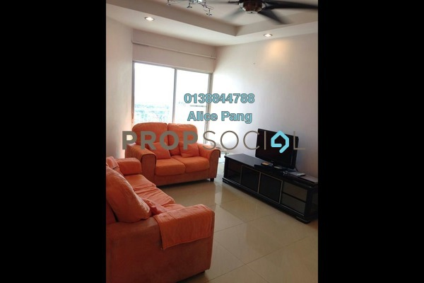 For Rent Condominium at Symphony Park, Jelutong Freehold Fully Furnished 3R/2B 1.4k