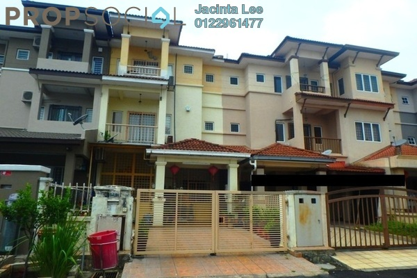 For Sale Terrace at Taman Ikhlas, Bandar Sungai Long Freehold Semi Furnished 5R/4B 437k