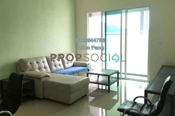 For Rent Condominium at Solaria Residences, Sungai Ara Freehold Semi Furnished 3R/2B 1.3k