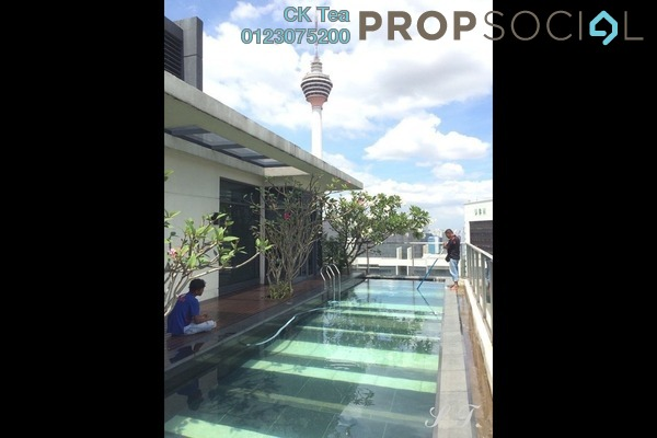 For Rent Condominium at St Mary Residences, KLCC Freehold Semi Furnished 4R/4B 35k